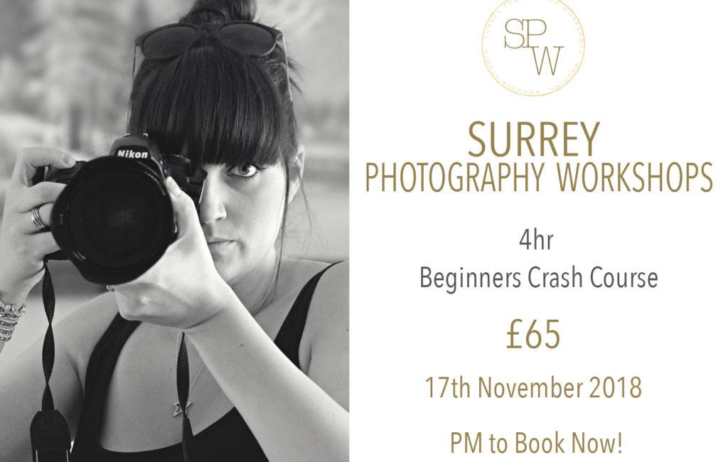 Beginners Photography Workshop-Surrey Photography Workshops